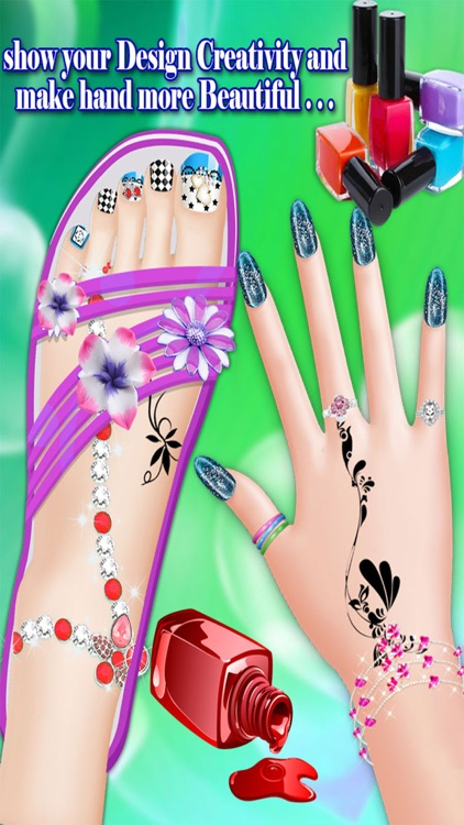 Manicure Pedicure and Spa Games for Girls, teens and kids screenshot-3