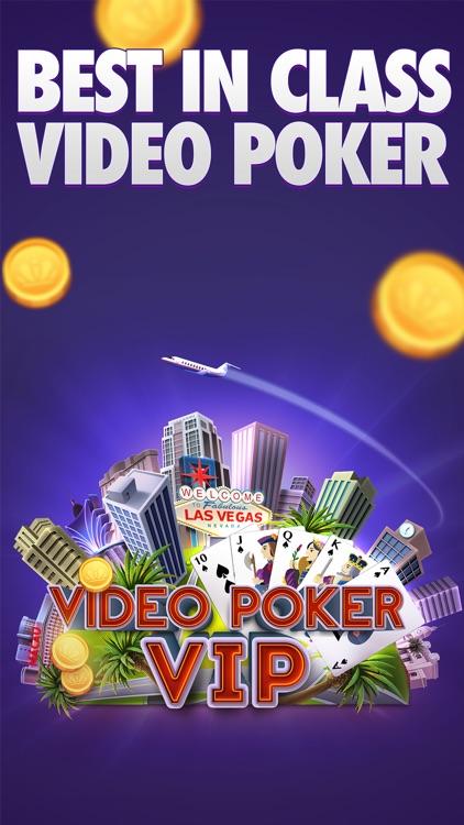 Video Poker VIP - Multiplayer Heads Up Free Vegas Casino Video Poker Games screenshot-0