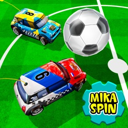 micro car football racing car game for kids