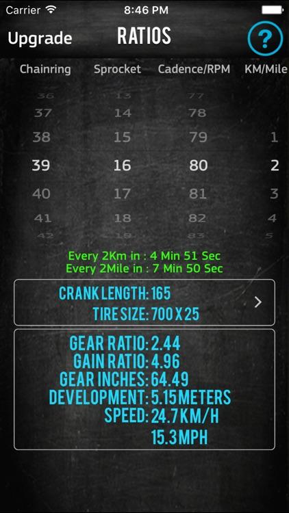 Bike Gear Calculator GearRatio