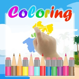 Thanksgiving Coloring Kids Game for Charlie Brown Gang