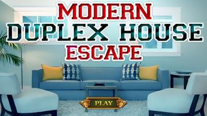 Escape Games Modern Duplex House screenshot one