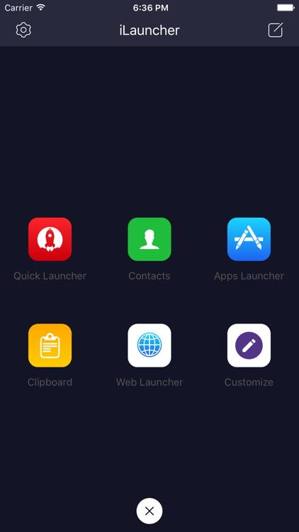 iLauncher Pro- custom shortcut launcher for today widget screenshot-3