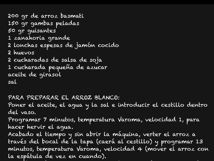 RoboGourmet: Recetas Thermomix para iPad screenshot-2