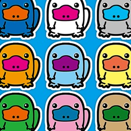Platypus Land - Chibi Kawaii Animals Column Matches Up Games