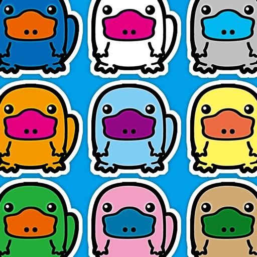 Platypus Land - Chibi Kawaii Animals Column Matches Up Games iOS App