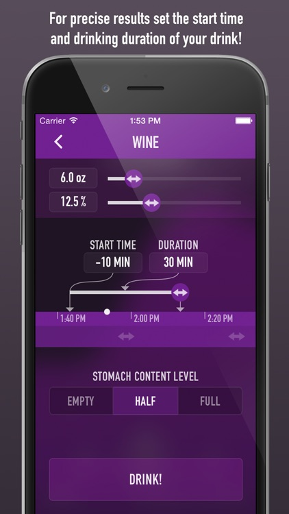 IntelliDrink PRO - Blood Alcohol Content (BAC) Calculator screenshot-4