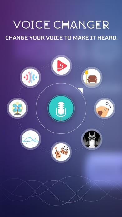 Voice Changer App – Funny SoundBoard Effects Screenshot
