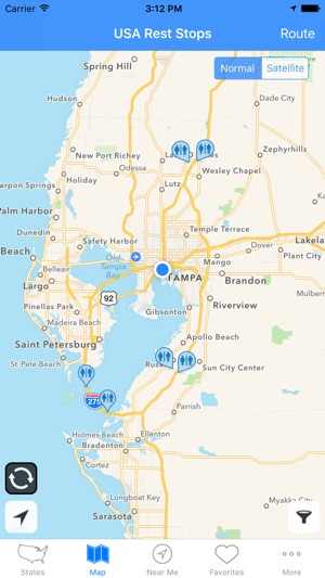 USA Rest Stops on the App Store