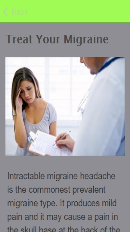 How To Treat A Migraine