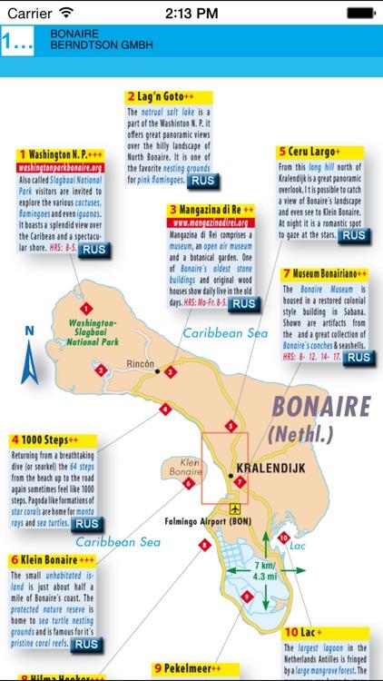 Bonaire. Road map screenshot-3