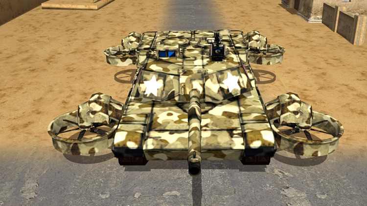 Flying World Tank war 3d Simulator screenshot-3