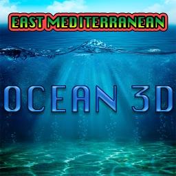 Ocean 3D East Mediterranean