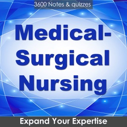 Medical Surgical Nursing Exam Review : 3600 Quiz & Study Notes