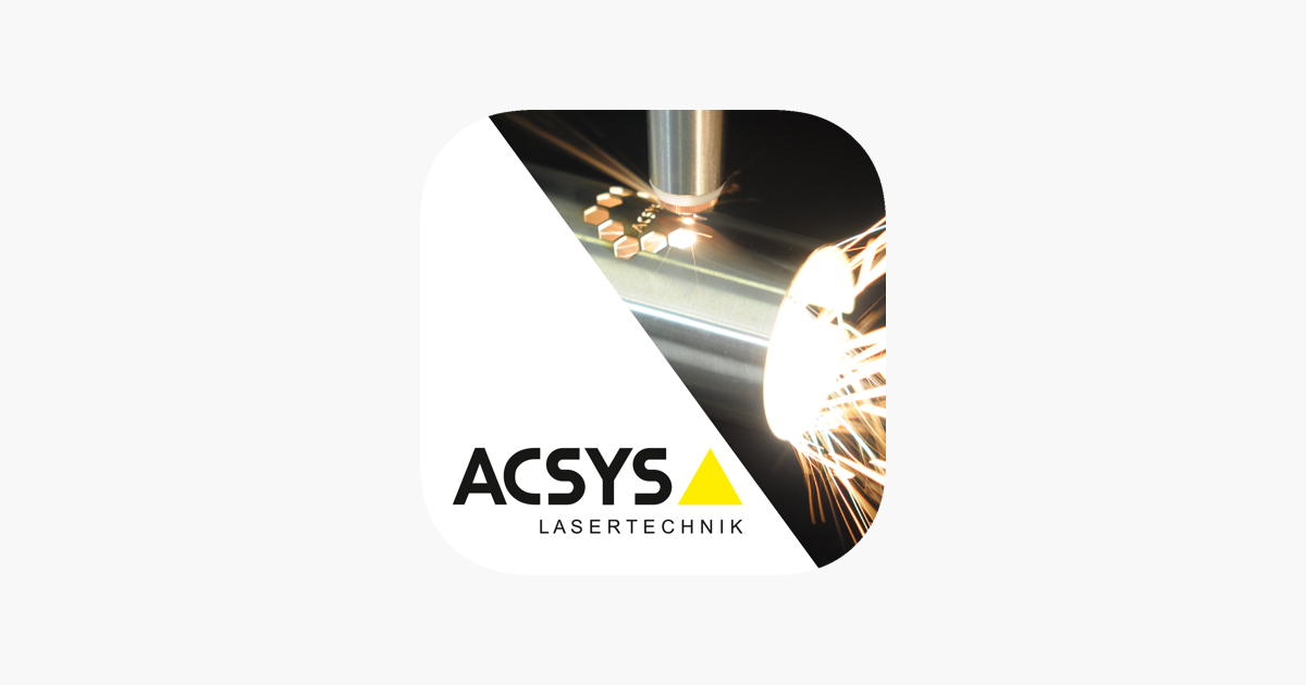 Acsys Lasertechnik On The App Store