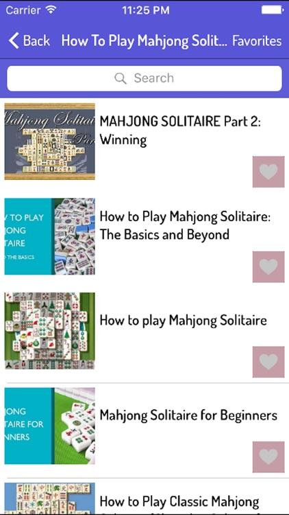 How To Play Mahjong - Mahjong Guide