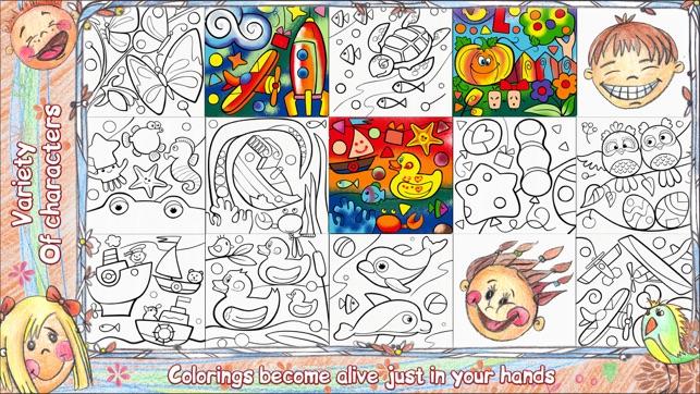 Colorfy Live 3D: Malbuch für Kinder im App Store