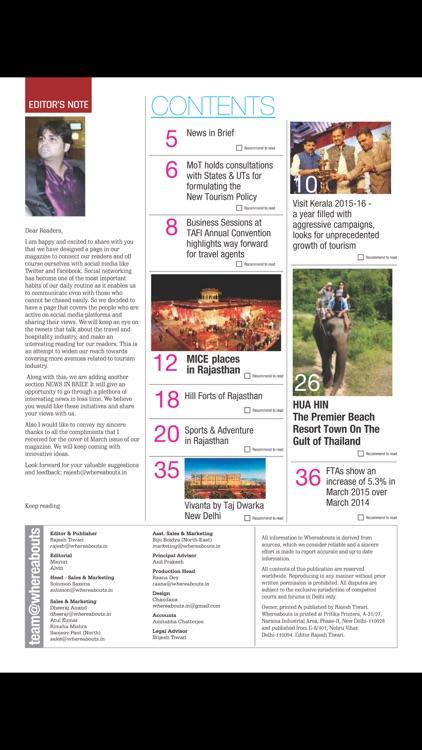 Whereabouts Magazine