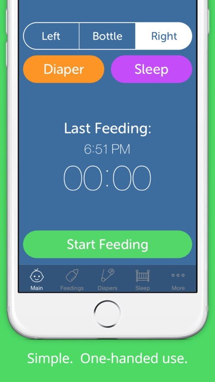 Baby Feeding Log - Newborn Breastfeeding, Bottle and Nursing Tracker with Timer