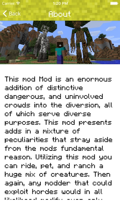 Creatures Mod for Minecraft PC Game Edition - Mods Pocket Guide screenshot-4