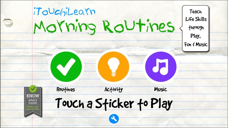 iTouchiLearn Life Skills: Morning Routines for Preschool Kids