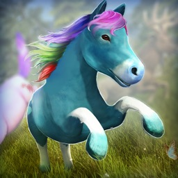 A Little Pony World Full of Magic Colors | Free Pony Game