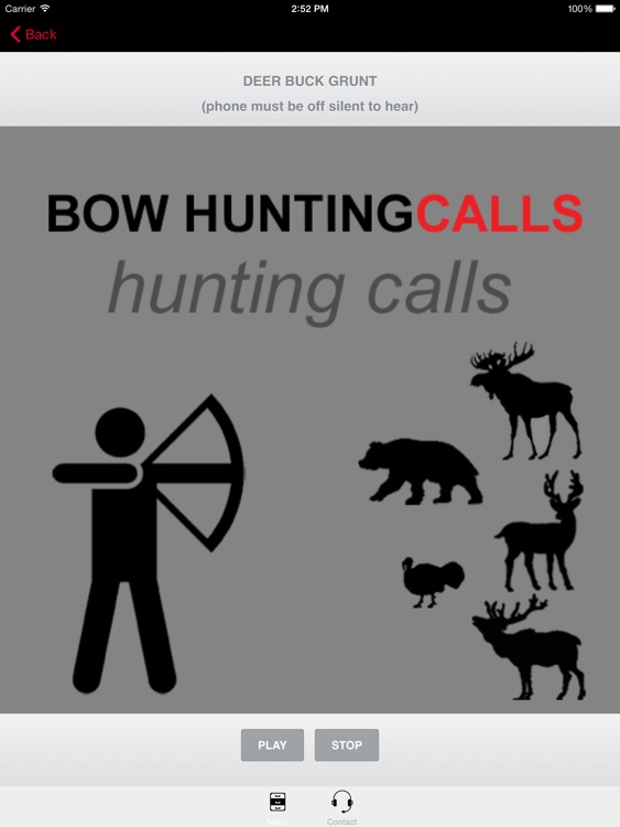 Bow Hunting Calls - Premium Hunting Calls For Archery Hunting Success (Ad Free) BLUETOOTH COMPATIBLE screenshot-0
