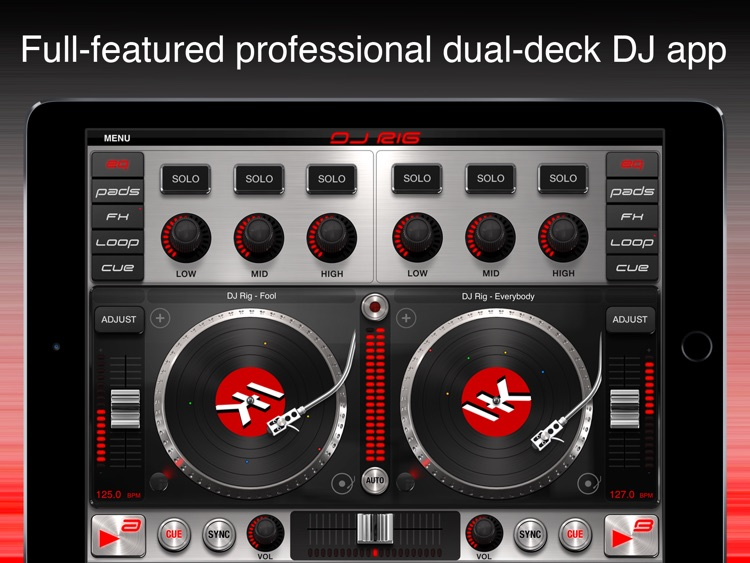 DJ Rig FREE for iPad screenshot-0