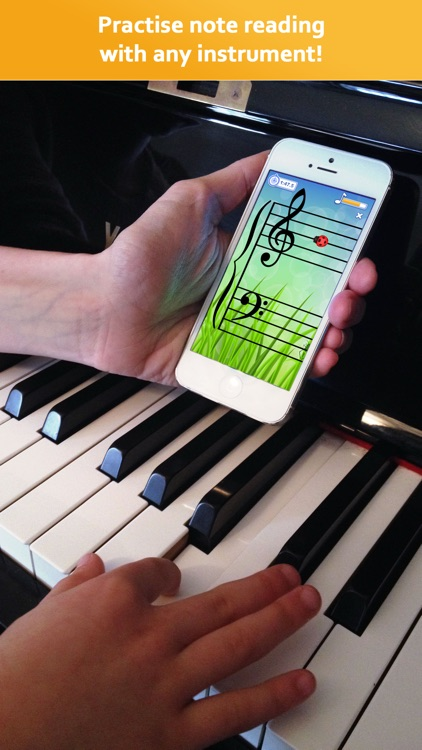 Note Rush: Learn Music Sight Reading + Piano Notes screenshot-0