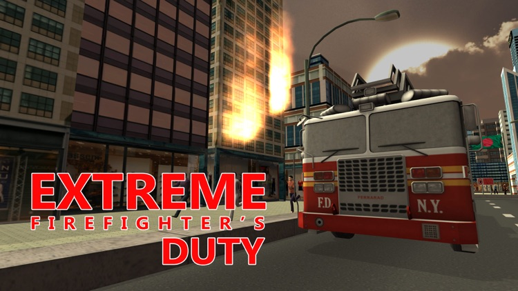 Fire Rescue Truck Simulator – Drive firefighter lorry & extinguish the fire screenshot-3