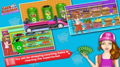 Supermarkt-Kasse & Einkaufen MädchenScreenshot von 4