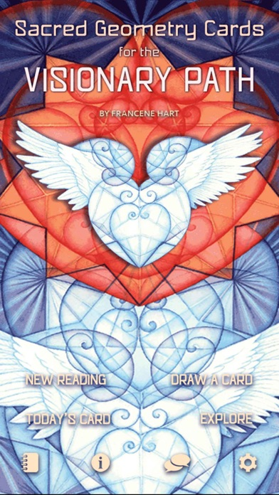 Sacred Geometry Cards for the Visionary Path-0