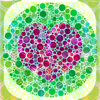 Color Blind-Test su ojo