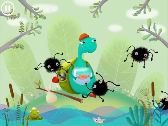 Скачать Lil Turtle - детская игра-приключение про черепаху