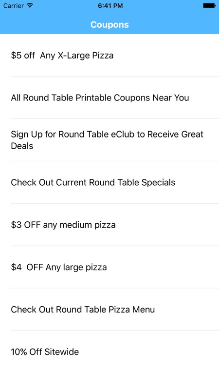 picture regarding Round Table Pizza Printable Coupons titled Discount coupons for Spherical Desk Pizza Application - On line Sport Hack and