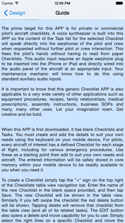 Pilot Checklist screenshot-3
