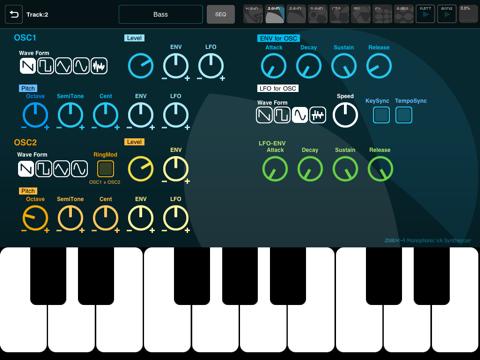 Screenshot #6 pour XENON Synthesizer