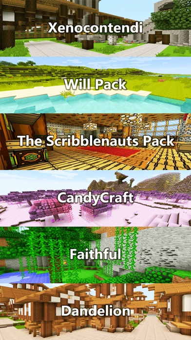 Screenshots of Texture Packs - Pixel Art Collection for Minecraft PE & PC Edition for iPhone