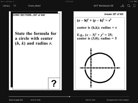 ACT Test Prep Algebra 2-Trig Review--Exambusters Flash Cards--Workbook 9 of  13 by ACT Exambusters on Apple Books