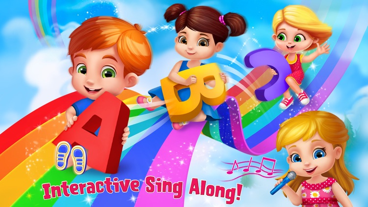 The ABC Song Educational Game screenshot-1