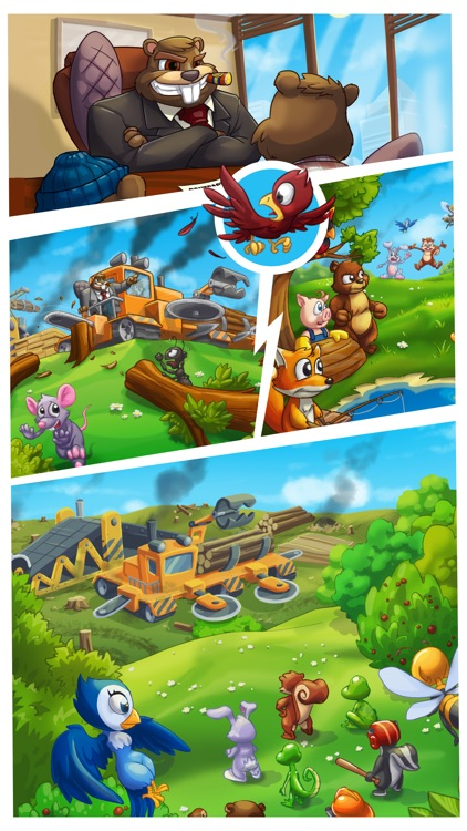 Forest Rescue 2 Friends United screenshot-4
