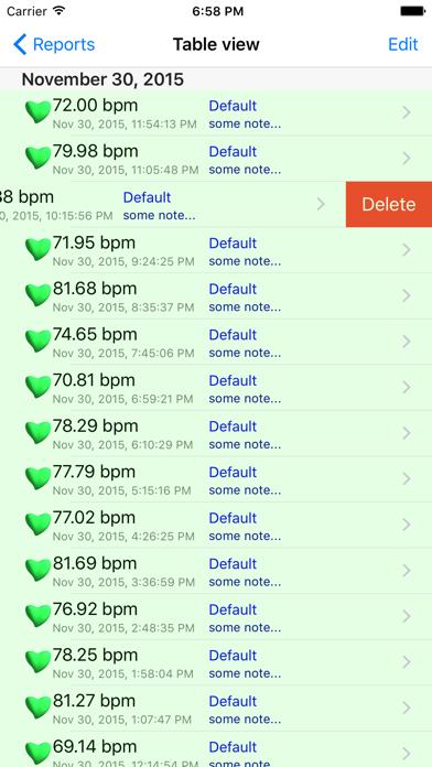 iHeart – Pulse Reader Screenshot 2