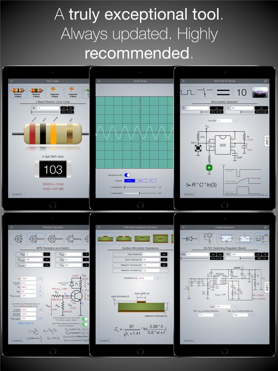 EE ToolKit PRO for iPad screenshot-2