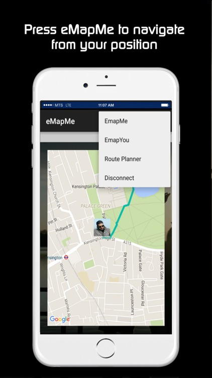 eMapMe - find friends family locator