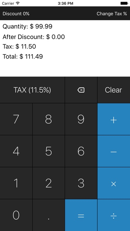 Taxealo Sales Tax Calculator