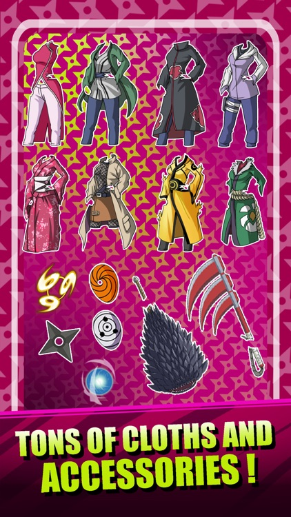 Create Your Own Ninja Girl - Dress Up Game Naruto Shippuden Edition