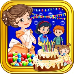 Princess Birthday Party Celebration - Cleaning and Dressup Games For Girls