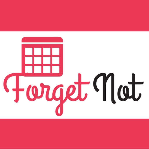 Forget Not - Event Countdowns