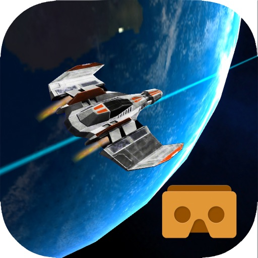 VR Roller Coaster Space ship tour for google cardboard