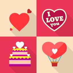 Romantic Wallpaper Maker - Make Custom Valentine Backgrounds with Beautiful Frames, Shelves & Docks